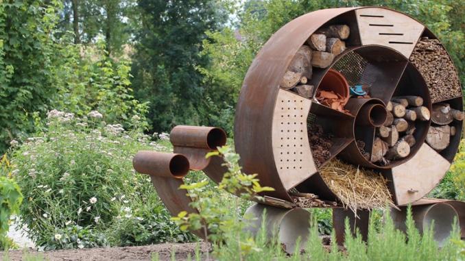 Insektenhotel Biodiversität