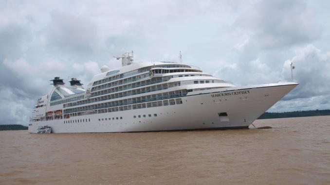Luxusschiff Amazonas