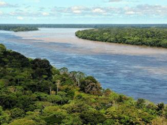 Amazonas Gigantisches Flusssystem