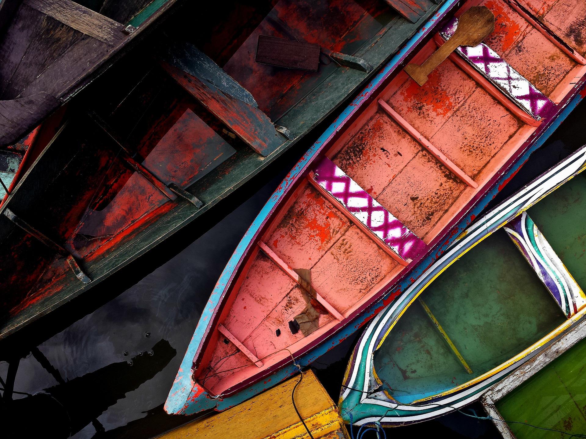 Boote Amazonas Fluss