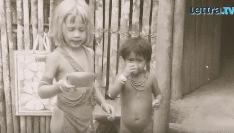 Catharina Rust im Dschungel Dorf