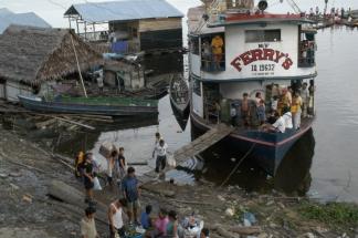 Hafen von Iquitos Peru