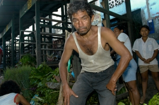 Iquitos Markt Arbeiter