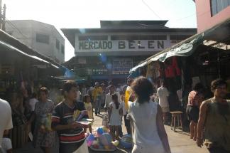 Iquitos Markt Belen