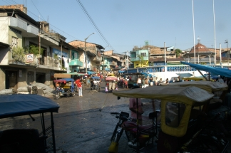 Iquitos Straßenbild