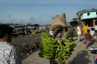 Iquitos Hafen Bananen