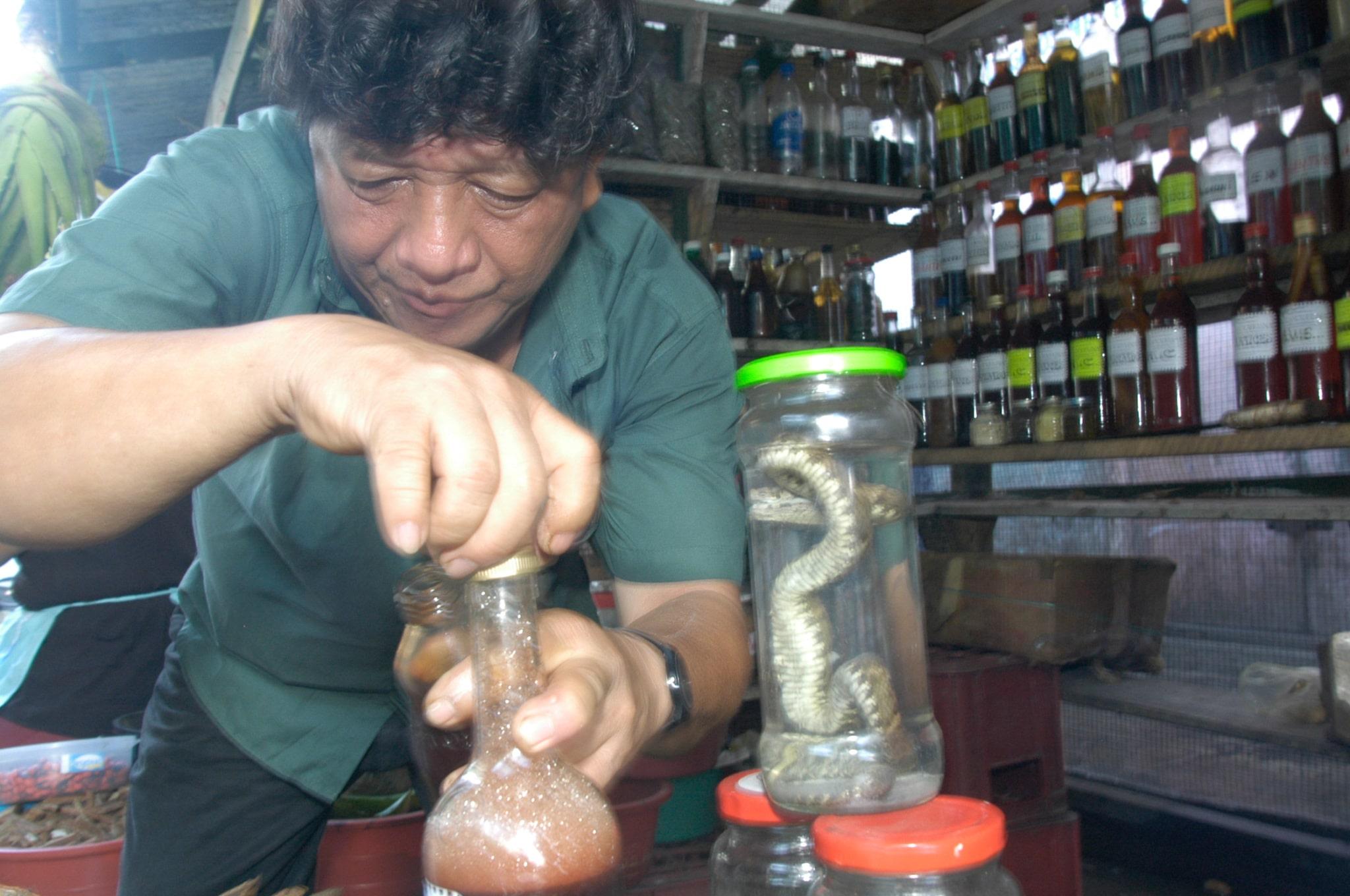 Iquitos Heilmittel Markt