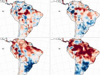 Brandgefahr Vorhersage starker Waldbrände in Amazonien