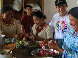 Kichwa kochen in Ecuador