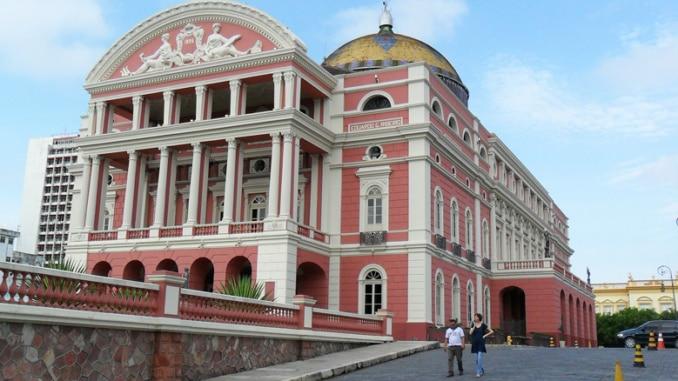 Manaus Brasilien opera Oper