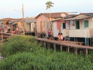 Wohnhäuser Armut